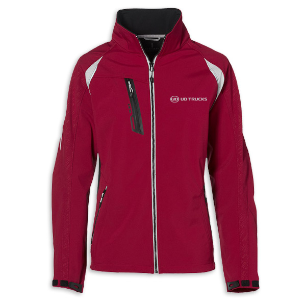 UD Mens Red Softshell Jkt