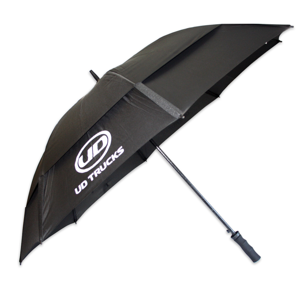 UD Golf  Umbrella with Vents  Black  DISC