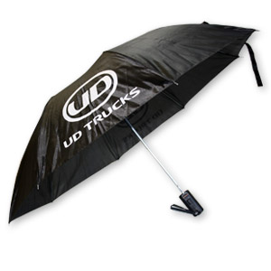 UD Short Fold Up Umbrella  - Black - UMB-7520
