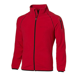 UD Mens Red Micro Fleece Jkt